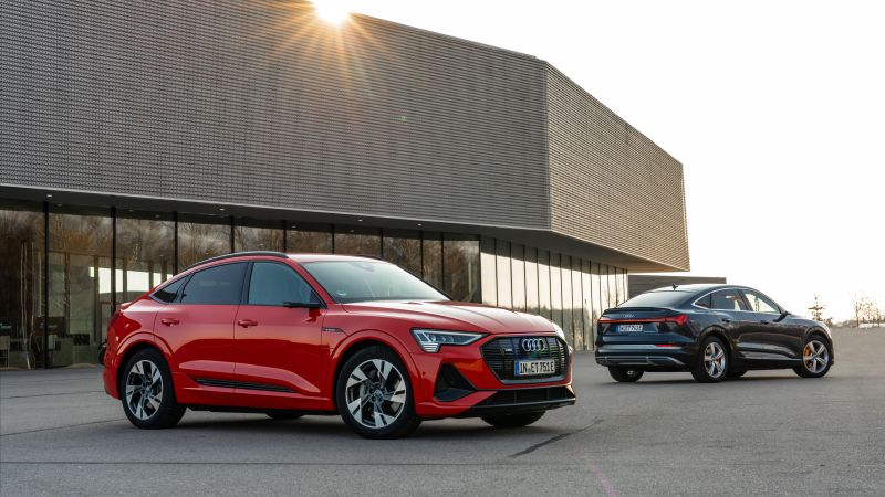 Audi e-tron Sportback, 2020 Cars, SUV, electric cars, 8K (horizontal)