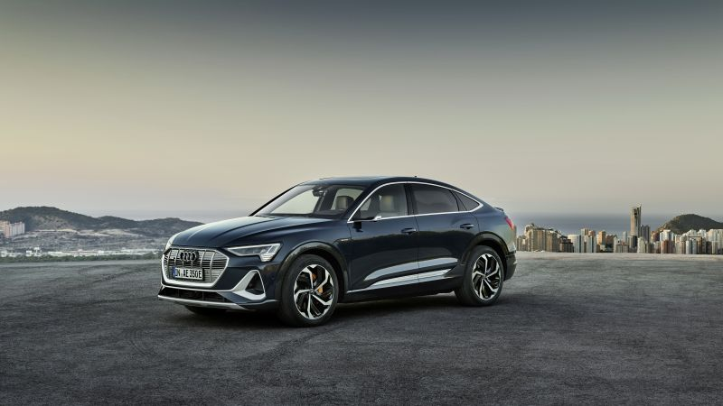 Audi e-tron Sportback, 2020 Cars, SUV, electric cars, 4K (horizontal)
