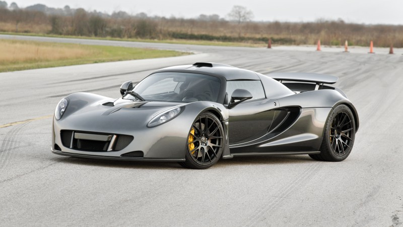 Hennessey Venom GT, supercar, Hennessey Performance Engineering, roadster, Lotus Exige, World's Fastest Edition, test drive (horizontal)