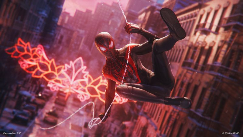 Spider-Man: Miles Morales, gameplay, PS5, PlayStation 5, BLM (horizontal)