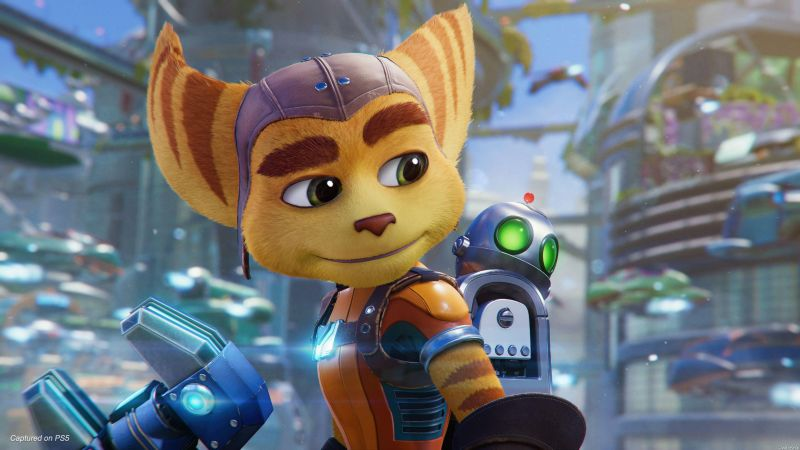 Ratchet & Clank: Rift Apart, gameplay, PlayStation 5, PS5 (horizontal)