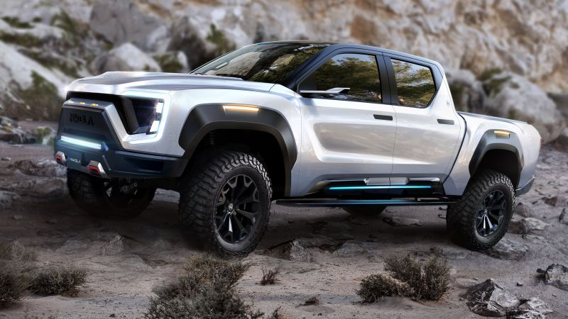 Nikola Badger, SUV, 2021 cars, electric cars, 5K (horizontal)