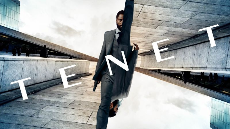 Tenet, John David Washington, poster (horizontal)