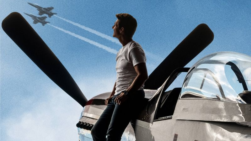 Top Gun: Maverick, Tom Cruise, 4K (horizontal)