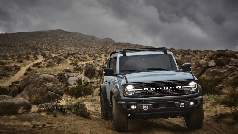 Ford Bronco, SUV, 2021 cars, 8K (horizontal)
