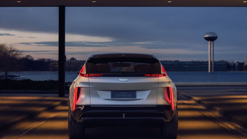 Cadillac Lyriq, SUV, 2021 cars, electric cars, 8K (horizontal)