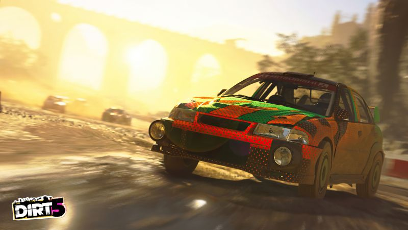 Dirt 5, screenshot, 4K (horizontal)