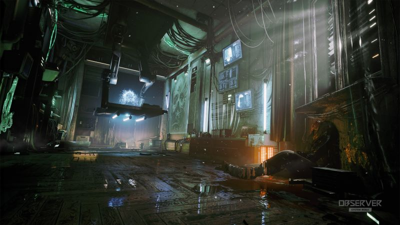 Observer: System Redux, Gamescom 2020, screenshot, 4K (horizontal)