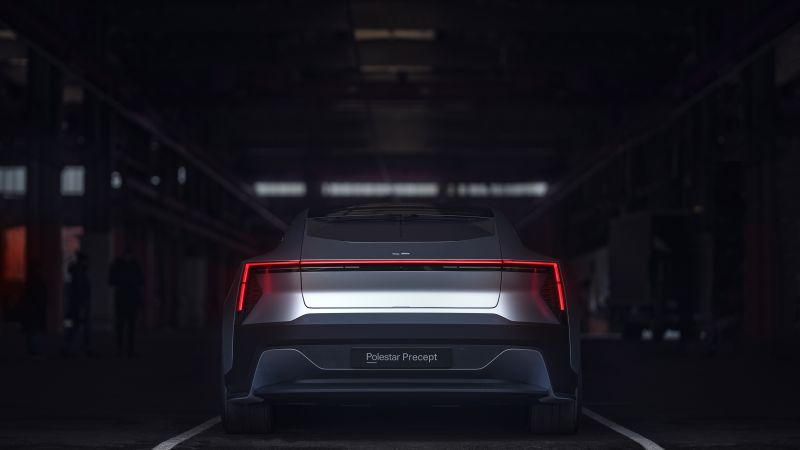Polestar Precept, electric cars, 4K (horizontal)