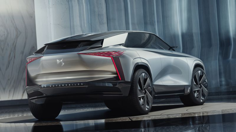 DS Aero Sport Lounge, SUV, electric cars, crossover, 4K (horizontal)