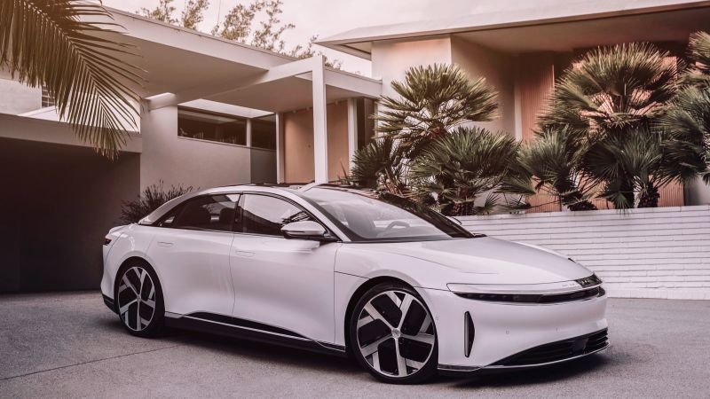 Lucid Air, 2021 cars, luxury cars, electric cars, 5K (horizontal)