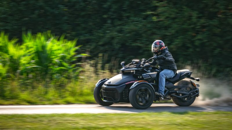 Can-Am Spyder F3-S, 2020 bikes, 5K (horizontal)