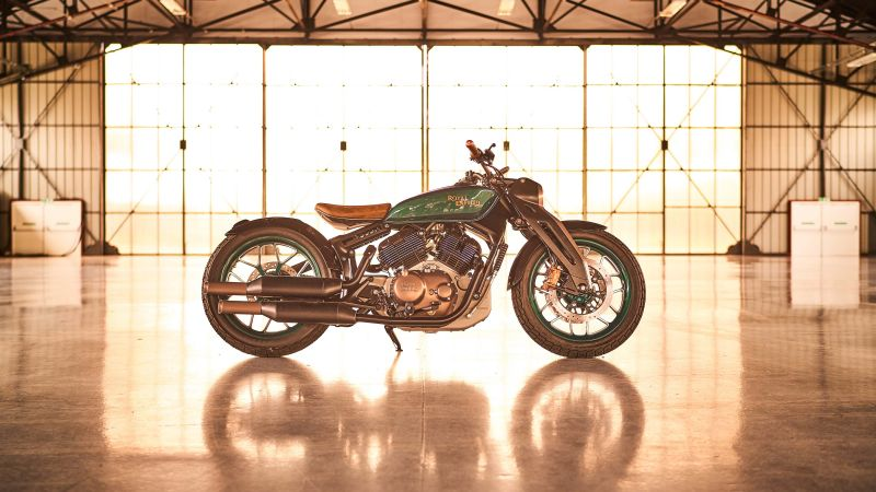 Royal Enfield KX, 2020 bikes, 4K (horizontal)