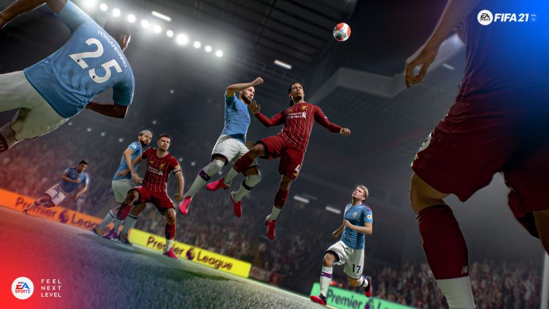 FIFA 21, screenshot, 4K (horizontal)