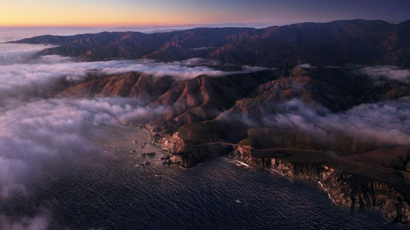 macOS Big Sur, dusk, Apple October 2020 Event, 5K (horizontal)