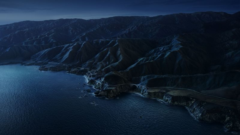 macOS Big Sur, night, Apple October 2020 Event, 5K (horizontal)