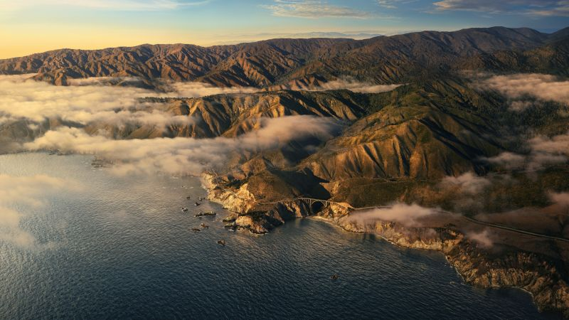 macOS Big Sur, evening, Apple October 2020 Event, 5K (horizontal)
