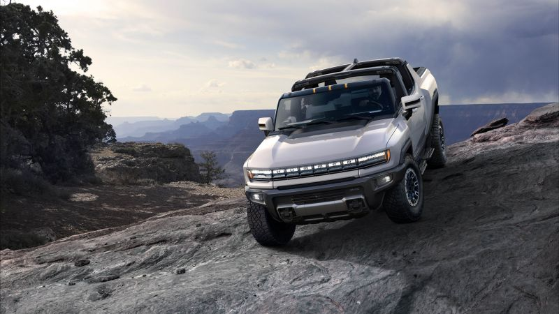 GMC Hummer EV, SUV, electric cars, 5K (horizontal)