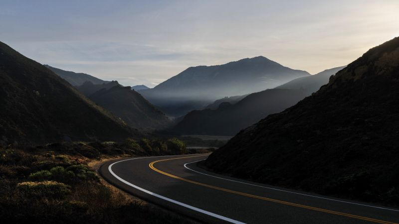 macOS Big Sur, road, Apple October 2020 Event, 5K (horizontal)