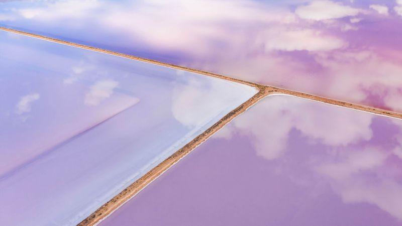 reflection, sky, Bing, Microsoft, 4K (horizontal)