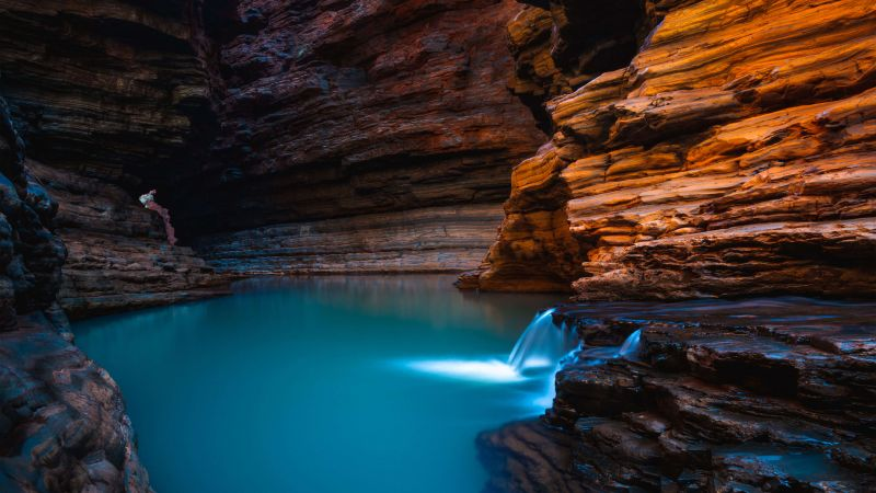 Kermits Pool, Karijini National Park, Australia (horizontal)
