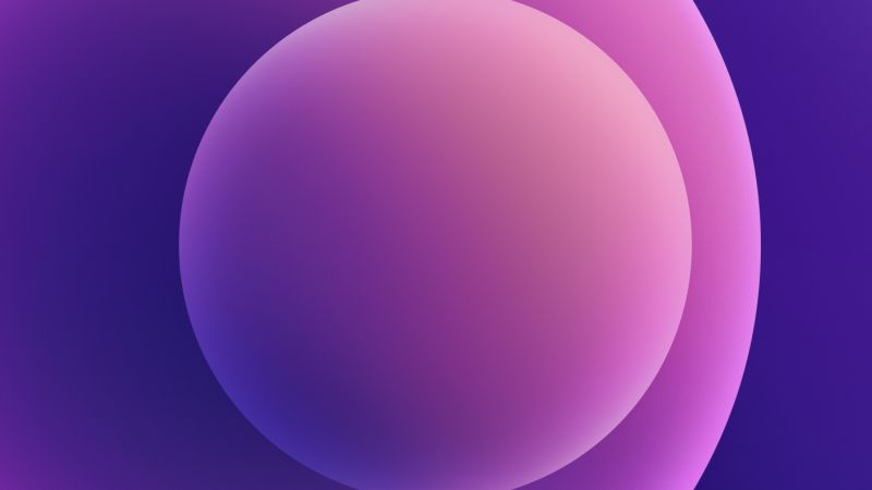 iPhone 12, purple, abstract, Apple April 2021 Event, 4K (horizontal)