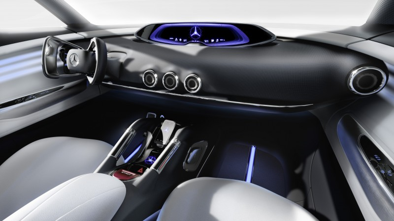 Mercedes-Benz Vision G-Code, hybrid, Mercedes, hydrogen, interior, SUV, supercar, luxury cars, concept, ecosafe (horizontal)