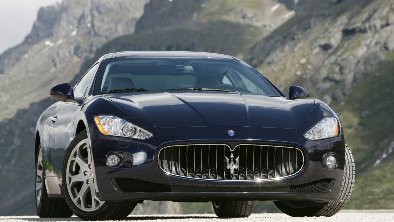 Maserati GranTurismo, supercar, Maserati, Gran Turismo, luxury cars, sports car, speed, test drive, front (horizontal)