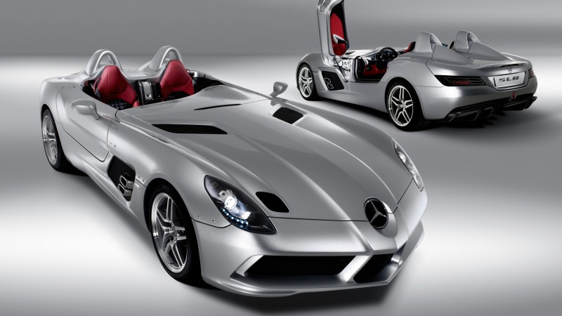 Mercedes-Benz SLR McLaren Stirling Moss, supercar, McLaren, Mercedes, luxury cars, sports car, speed, interior, doors, 2015 Detroit Auto Show. NAIAS (horizontal)