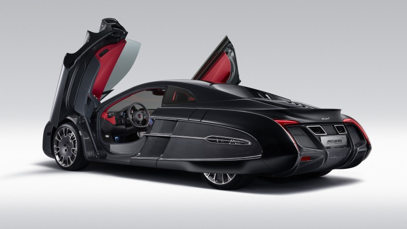 McLaren X-1, supercar, McLaren, concept, luxury cars, sports car, limited edition, speed, doors (horizontal)