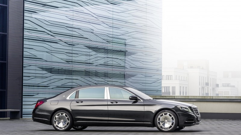 Mercedes-Maybach S600, supercar, Maybach, Mercedes-Maybach, 2015 car, luxury cars, review, side, 2015 Detroit Auto Show. NAIAS (horizontal)