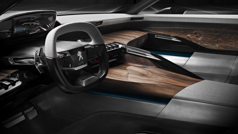 Peugeot Exalt, electric cars, concept, Peugeot, review, test drive, interior (horizontal)