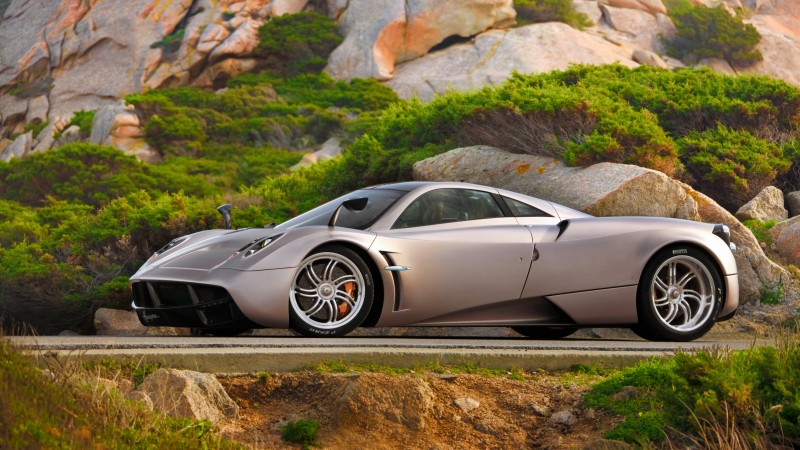 Pagani Huayra, supercar, Pagani, sports car, luxury cars, speed, test drive, doors, side, review (horizontal)
