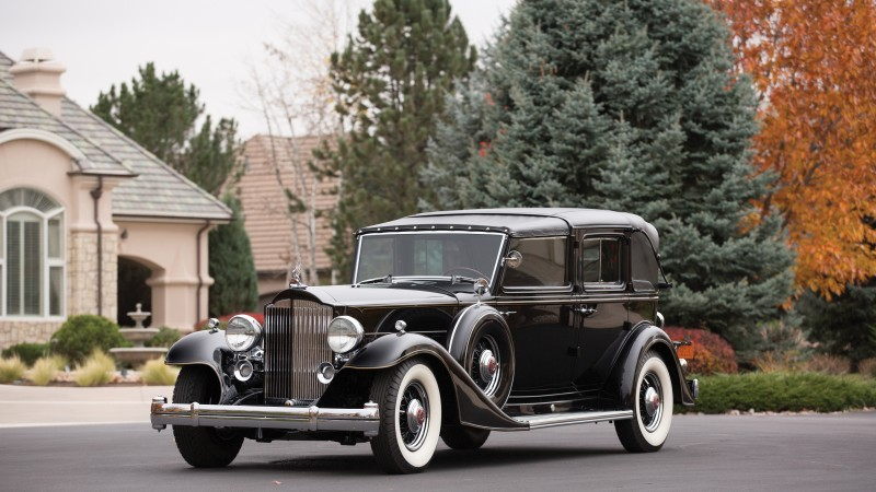 Packard Twelve, retro, Packard, classic cars, front, luxury cars, sports car, rent, buy (horizontal)