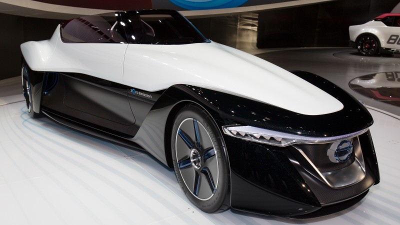 Nissan Bladeglider, electric cars, concept, Nissan, ecosafe, front, review (horizontal)