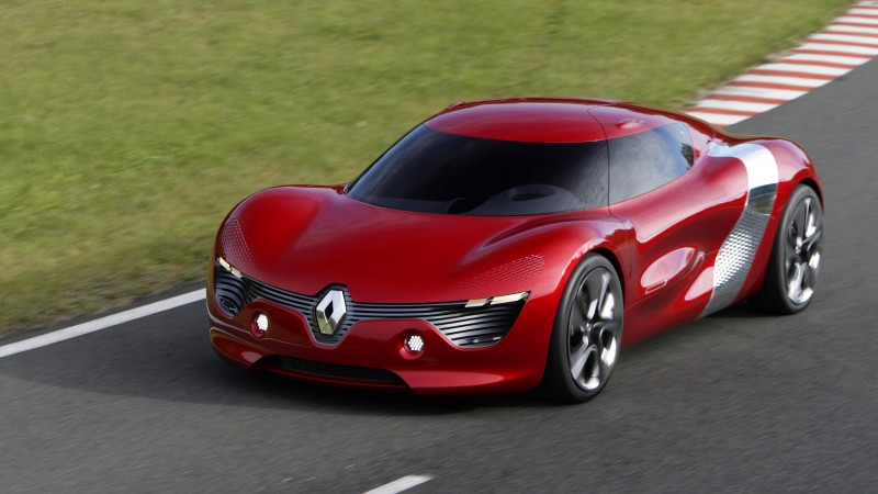 Renault DeZir, electric cars, Renault, concept, supercar, sports car, test drive, review, front (horizontal)
