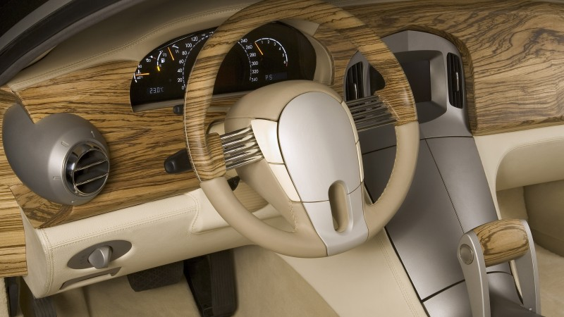 Russo-Baltique Impression, supercar, Russo-Balt, concept, luxury cars, review, interior (horizontal)