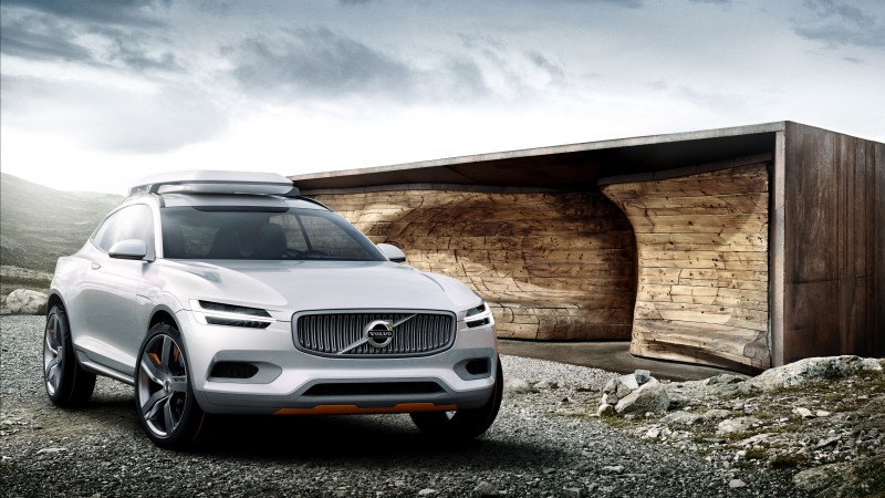 Volvo XC90, concept, crossover, Volvo, SUV, hybrid, luxury cars, review, test drive, front, buy, rent (horizontal)