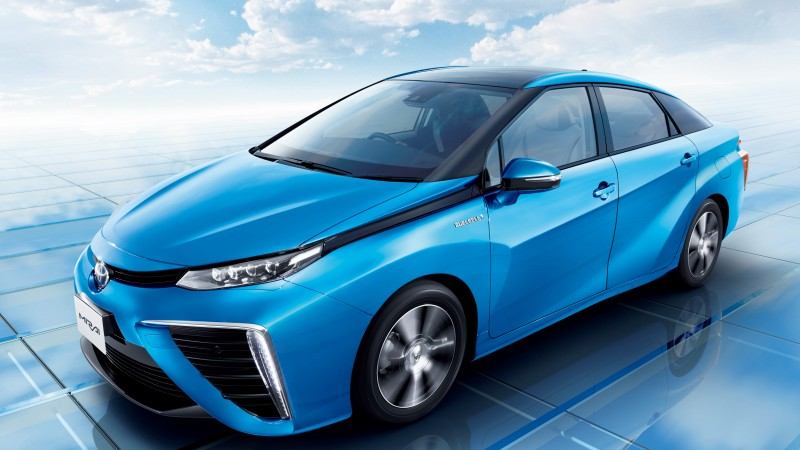Toyota Mirai, hydrogen, Toyota, electric cars, side, ecosafe, concept, review, test drive, Best Electric Cars 2015, 2015 Detroit Auto Show. NAIAS (horizontal)