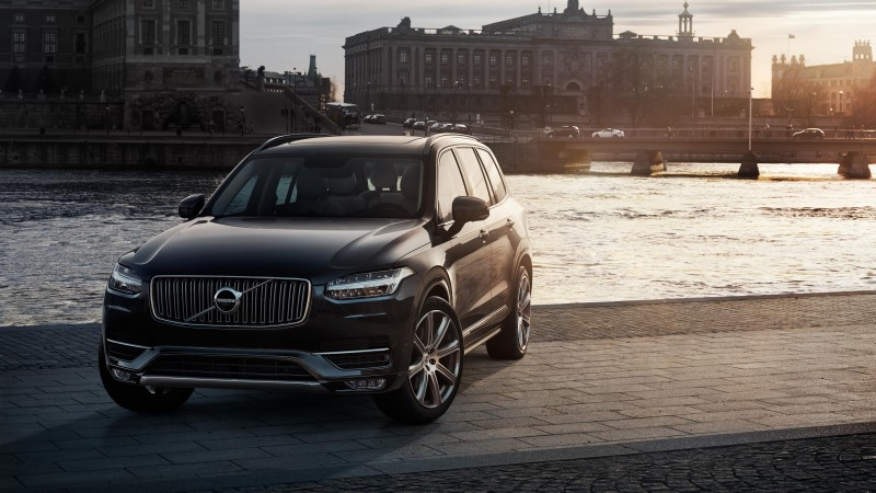 Volvo XC90, crossover, Volvo, SUV, hybrid, luxury cars, review, test drive, front, buy, rent (horizontal)