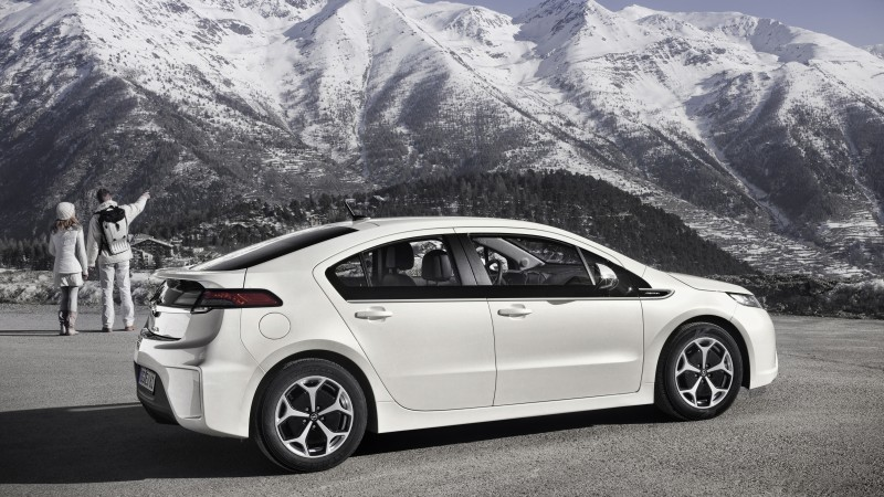 Chevrolet Volt, electric cars, Chevrolet, Vauxhall Ampera, Opel Ampera, hybrid, review, ecosafe, mountain (horizontal)