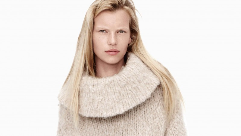 Lina Berg, model, spring 2015 top models, blonde, look, white background (horizontal)