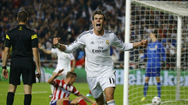 Football, Gareth Bale, soccer, The best players 2015, FIFA, Real Madrid, Winger (horizontal)