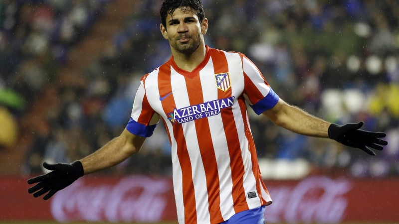 Football, Diego Costa, soccer, The best players 2015, FIFA, Chelsea, Striker (horizontal)