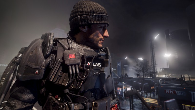 Call of Duty Advanced Warfare, game, shooter, soldier, exoskeleton, ATLAS, CoD, AW, screenshot (horizontal)