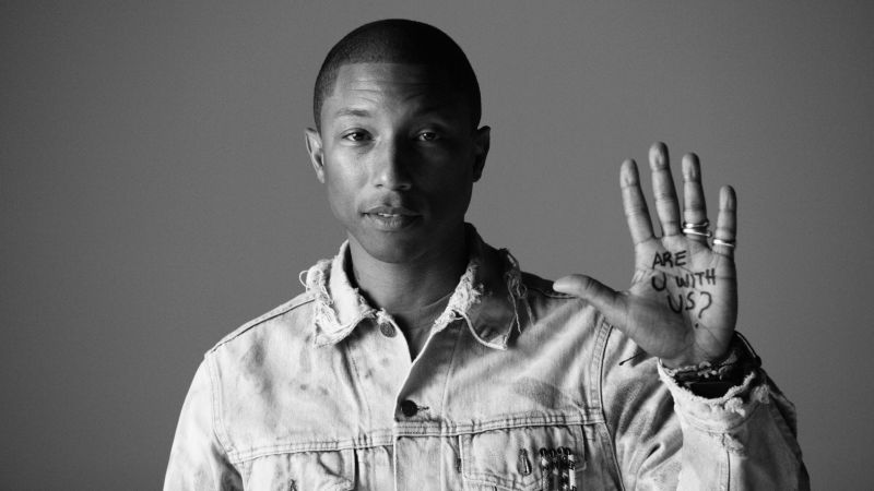 Pharrell Williams, Most Popular Celebs in 2015, Grammys 2015 Best Celebrity, singer, songwriter, Happy, Best Pop Solo Performance (horizontal)