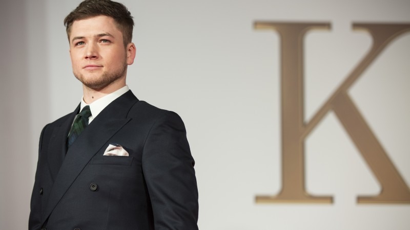 Taron Egerton, Most Popular Celebs in 2015, actor, Legend, Kingsman (horizontal)