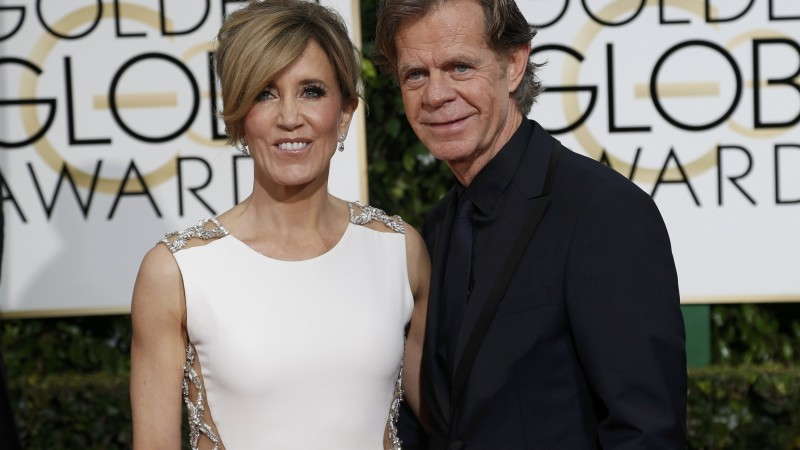 Felicity Huffman, WIlliam Macy, Most Popular Celebs in 2015, actor, screenwriter, stage, television actress (horizontal)