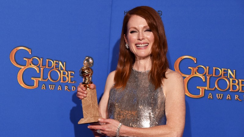 Julianne Moore, Most Popular Celebs in 2015, actress, children's author, Still Alice, Maps to the Stars (horizontal)