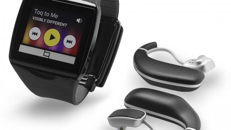 Qualcomm Toq Smartwatches, watches, review, unboxing, interface, Android, display (horizontal)